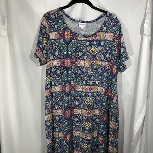 EUC LuLaRoe Carly Dress. Size XL.